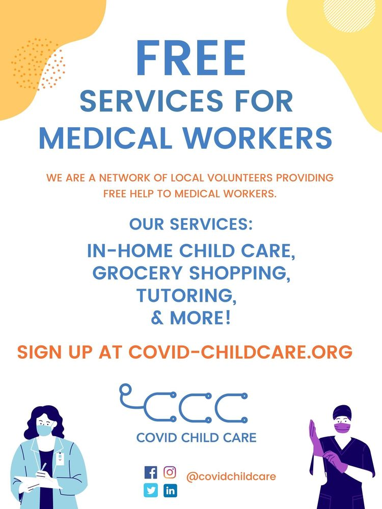 COVID Child Care for Essential Medical Workers