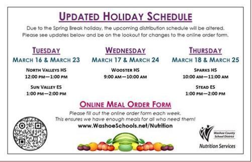WCSD Meal Resources