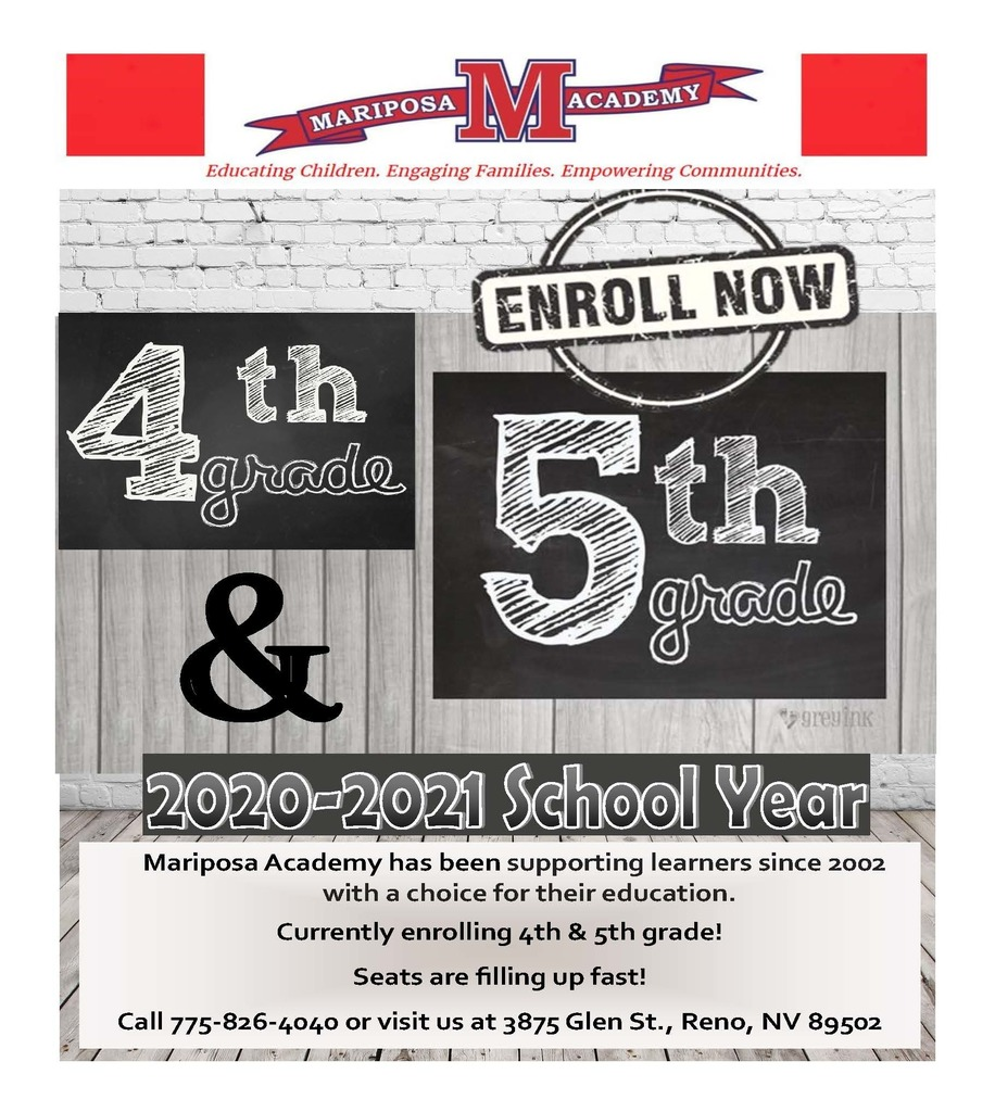 Enrolling 4th and 5th!